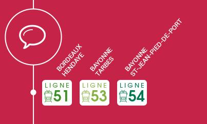 Concertation 2019 sur les lignes TER du Pays Basque