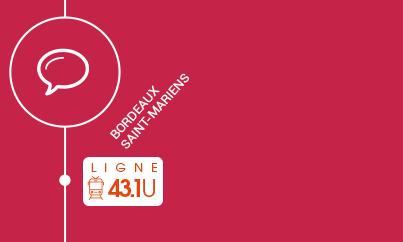 Concertation 2019 sur la ligne TER de Bordeaux-Saint-Mariens