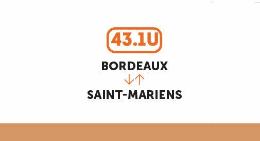 Concertation 2021 sur la ligne TER Bordeaux-Saint-Mariens